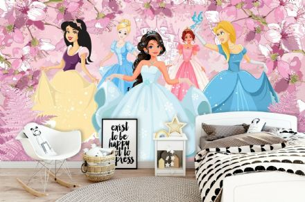 "Easy to apply wallpaper ""Princesses"""